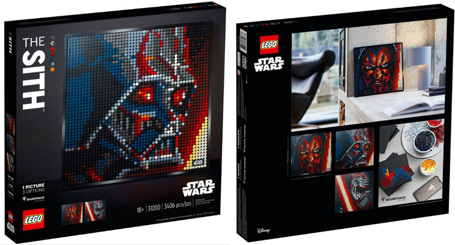 lego tableau star wars the Sith 31200