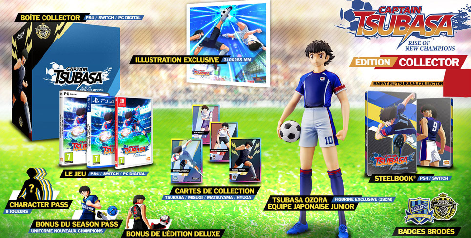 captain tsubasa coffret collector PS4 Xbox Nintendo Switch
