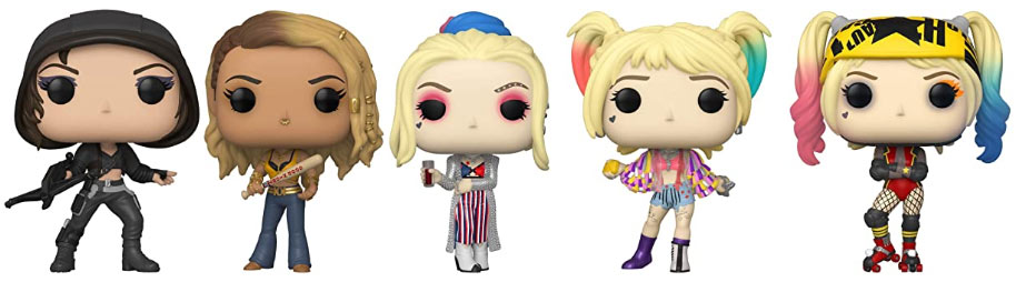 FUNKO Birds of prey collection 2020 precommande