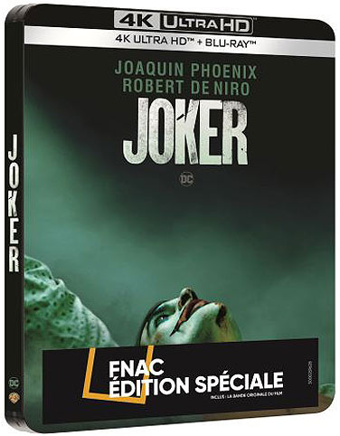 Joker steelbook collector edition fnac