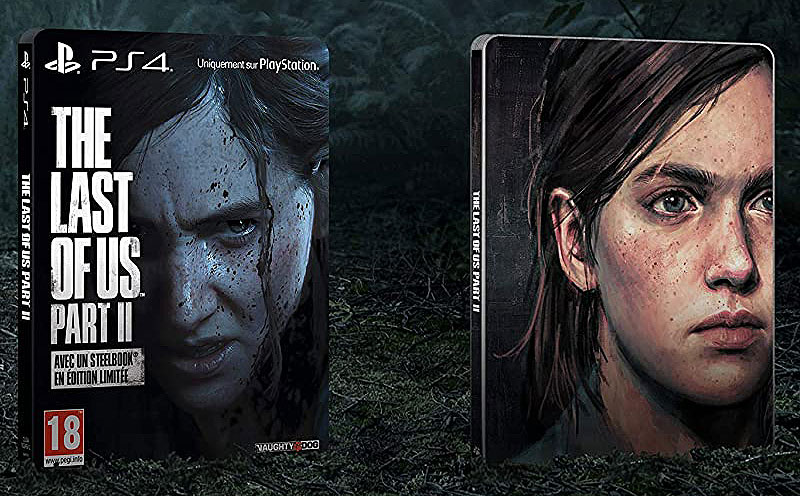 Last of us 2 edition limitee Steelbook amazon