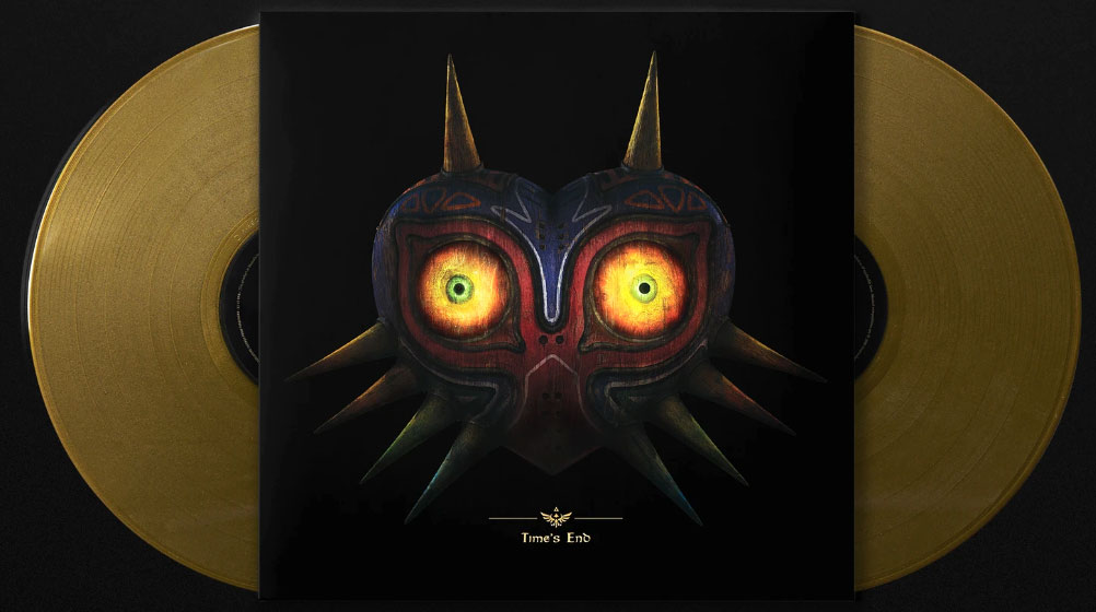 Zelda Majora mask edition collector limitee Vinyle LP