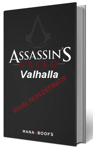 assassins creed valhalla artbook officiell livre illustre 2020 mana book