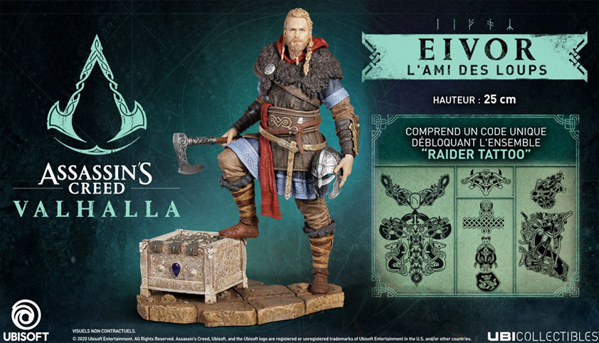 figurine assassins creed valhalla