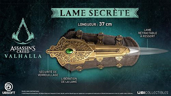 lame secrete assassins creed valhalla collection 2020