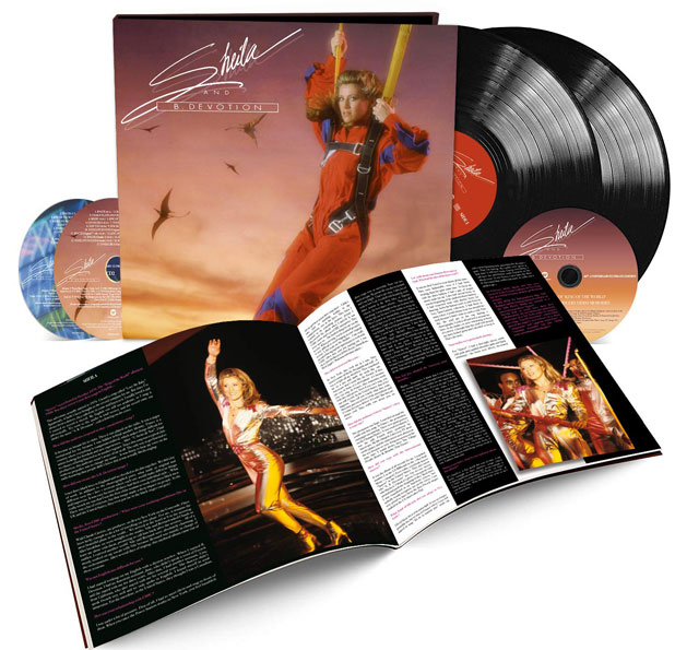 Sheila King of The World coffret collector edition limitee 40th anniversary Vinyle CD DVD
