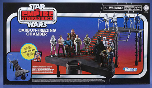 Carbon freezing chamber diorama star wars empire contre attaque