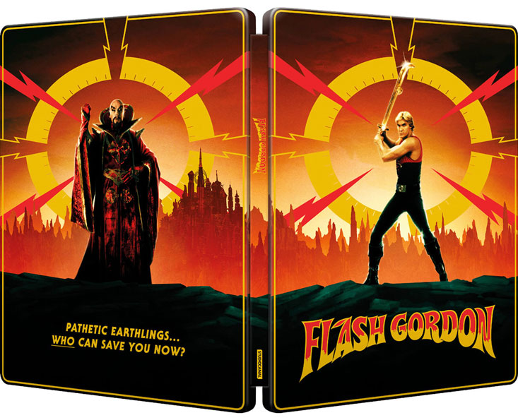 Flash Gordon steelbook bluray 4k edition collector