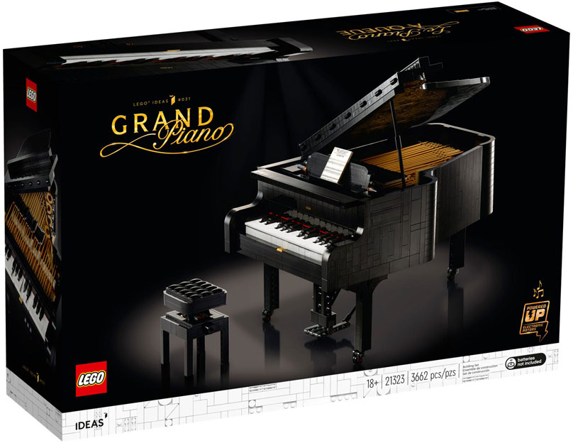 Piano queue 21323 ideas boutique LEGO