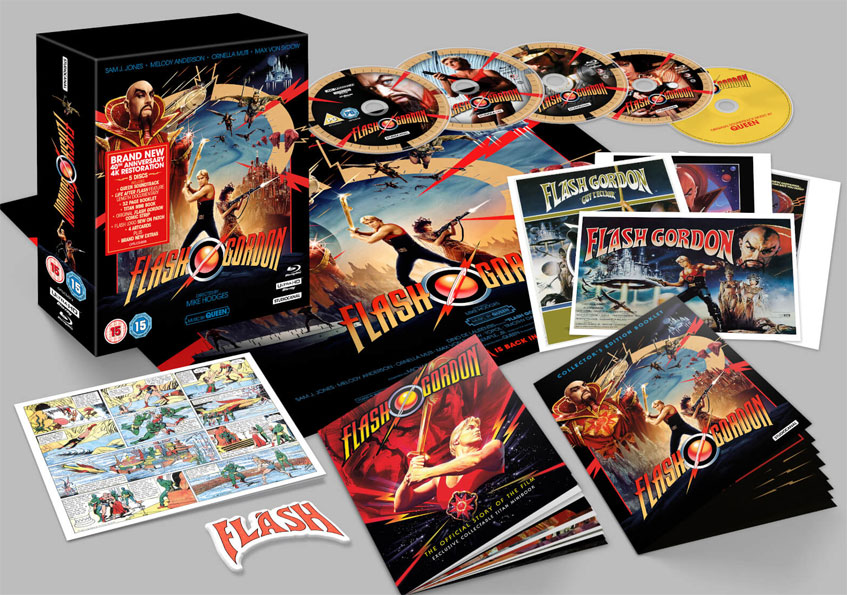 coffret collector Flash Gordon edition limitee 2020 40th