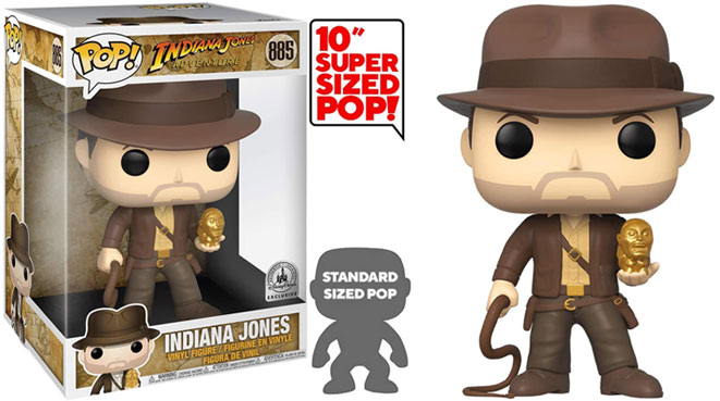 funko pop indiana jones collection disney super sized 885