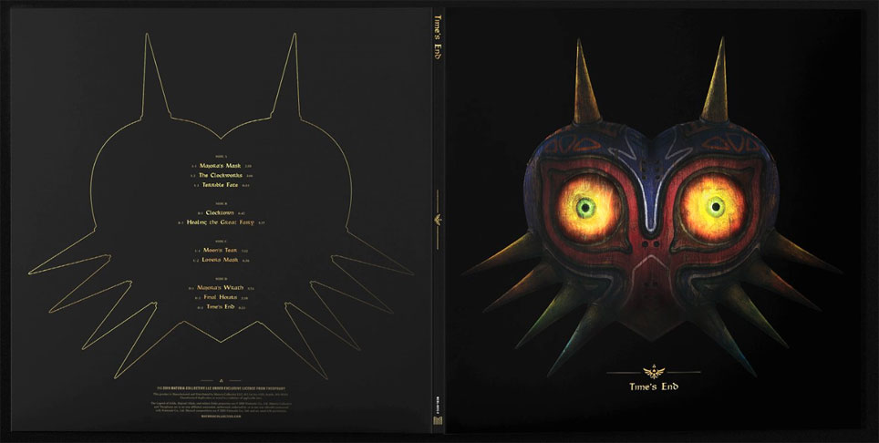 vinyle lp ost zelda majora mask remixed