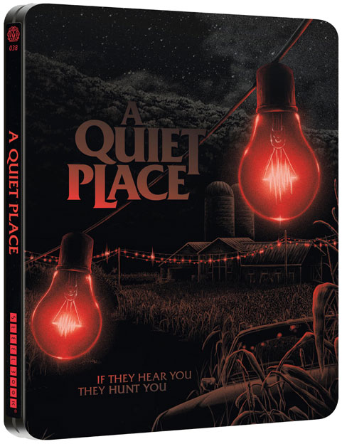Steelbook collector sans un bruit Blu ray 4K quiet place