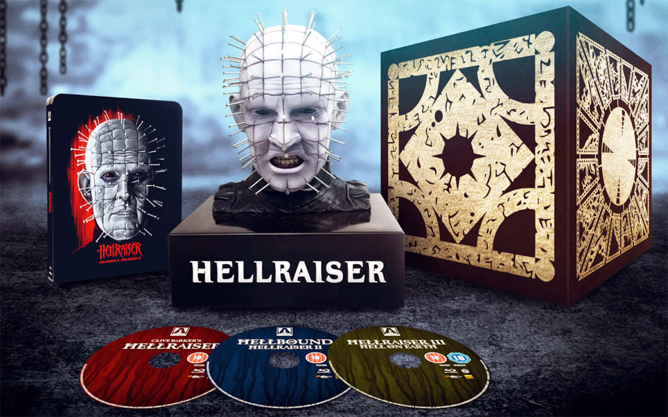 coffret collector hellraiser buste figurine pinhead edition limitee