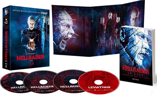 hellraiser trilogy cult edition promotion promo solde