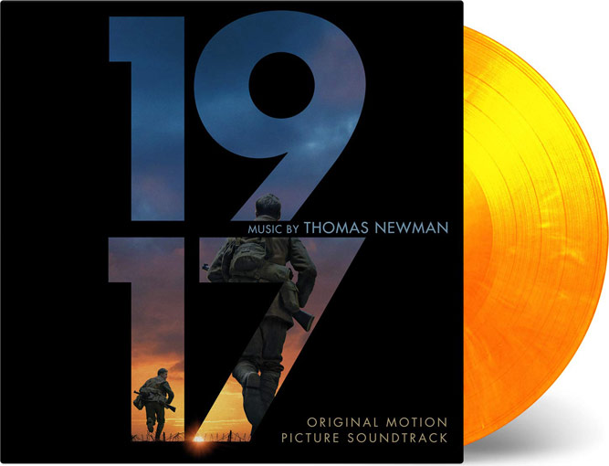 1917 vinyl lpp ost siundtrack colored vinyle edition