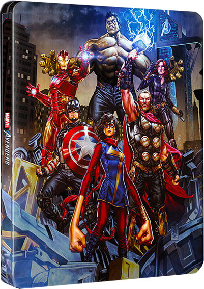 steelbook avengers edition deluxe ps4 xbox 2020