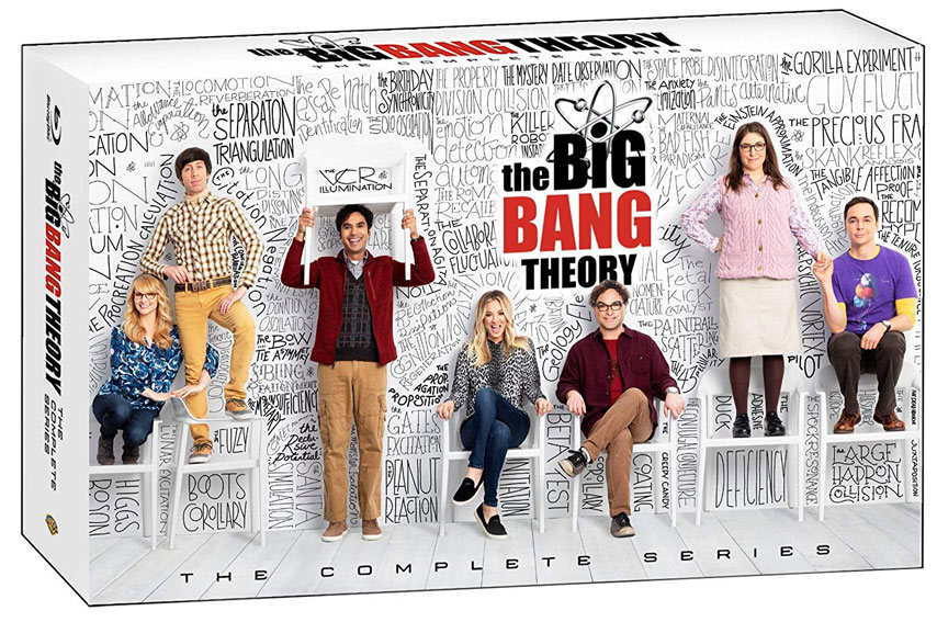 Coffret integrale big bang theory Bluray DVD 2020 serie humour