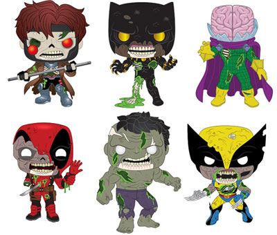 Funko Zombies Marvel collection figurine 2020