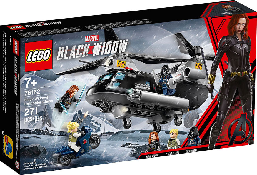 Lego Marvel Black Widow helicoptere 76162