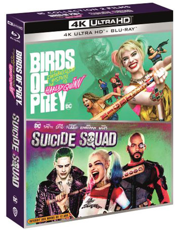 birds of prey suicide squad coffret integrale 4k