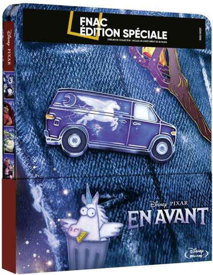 en avant steelbook blu ray edition collector 4k fnac