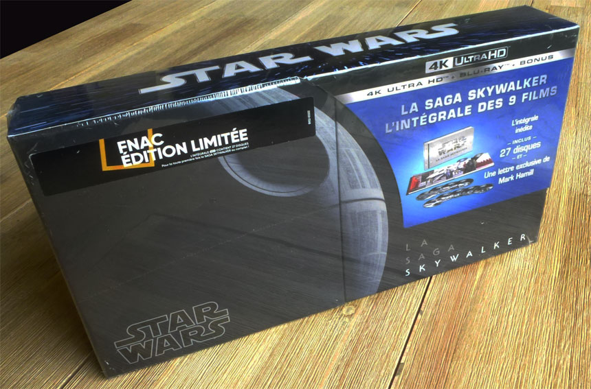 coffret star wars integrale edition limitee fnac