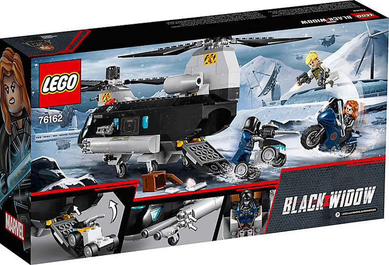 lego 76162 black widow marvel collection 2020