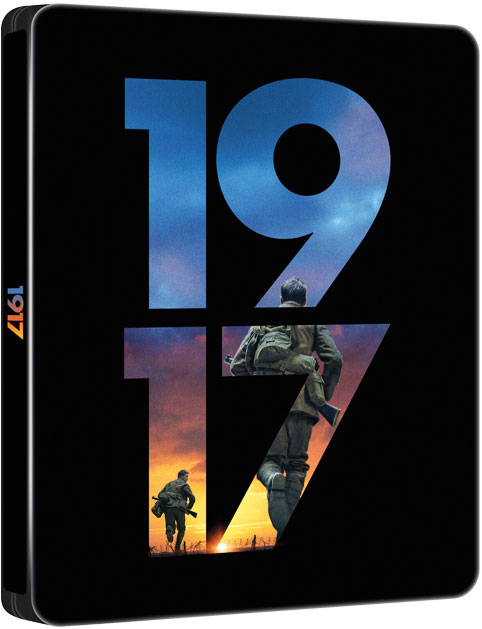 film 1917 steelbook collector Blu ray 4K edition limitee