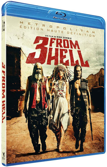 3 from hell blu ray dvd film rob zombie 2020