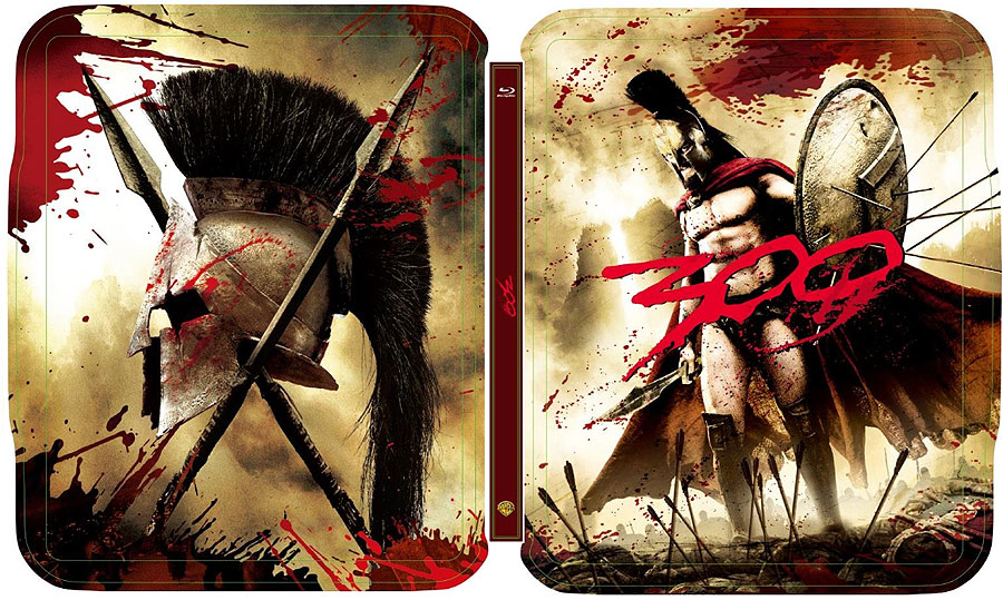 300 steelbook bluray 4k ultra hd fr france 2020