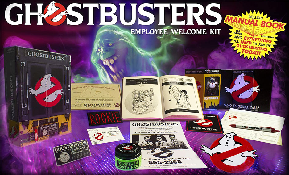 Ghostbosturs employee welcome Kit Collector