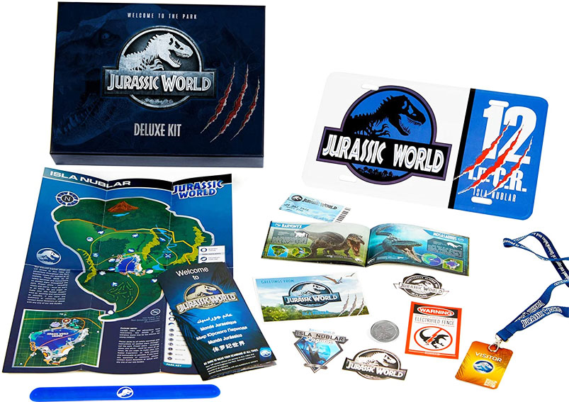 Kit jurassic World coffret collector