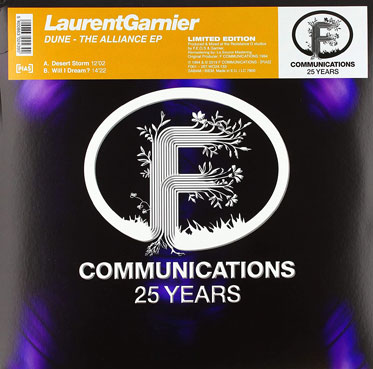 Laurent garnier the alliance maxi vinyle