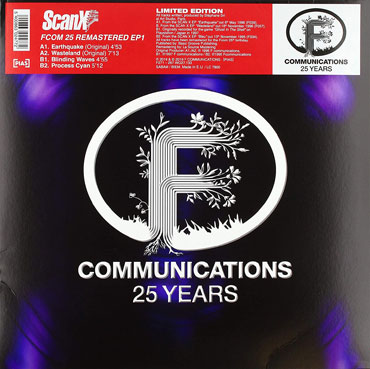ScanX Fcom 25 remastered EP Maxi Vinyle