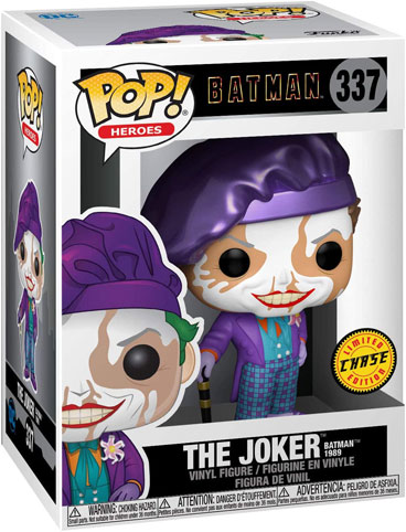 batman 1989 funko pop the joker limited edition chase