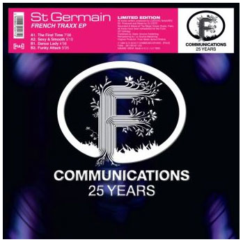 french traxx st germain Vinyle Maxi f communication 25th years