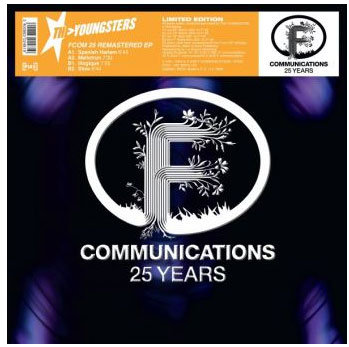 youngsters vinyle maxi 25 years f communications