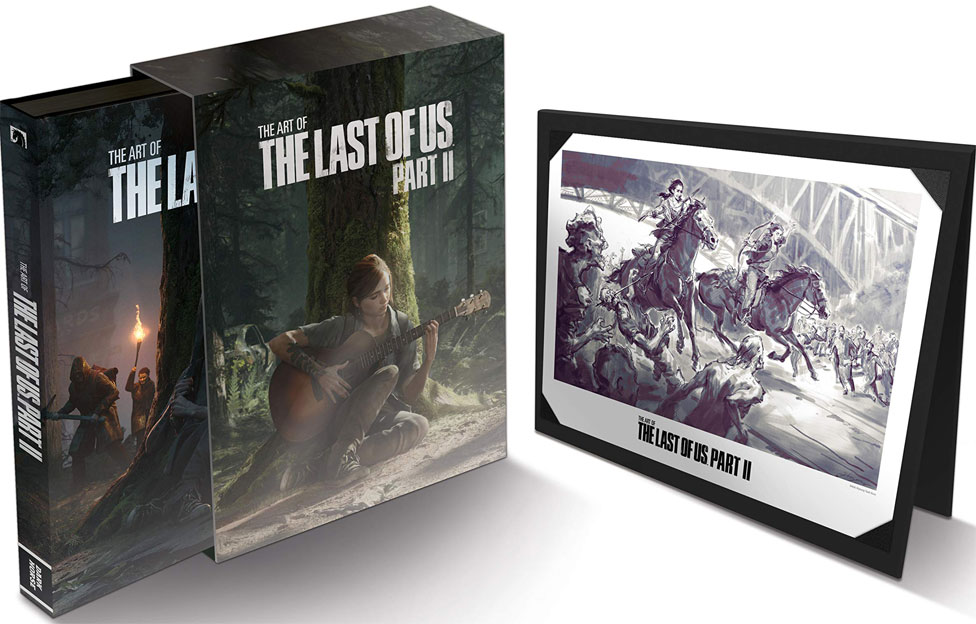 Artbook edition deluxe the last of us part 2 2020