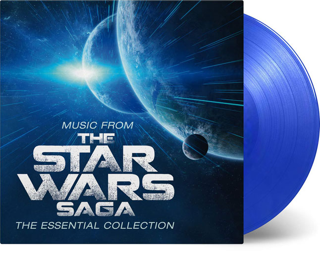 Star wars vinyle colore bleu essential collection