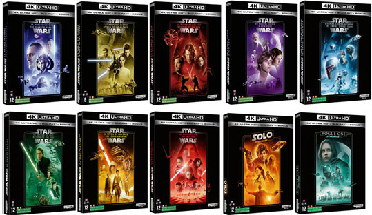 collection star wars 2020 bluray 4k uhd ultra hd
