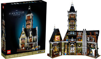 0 haunted lego
