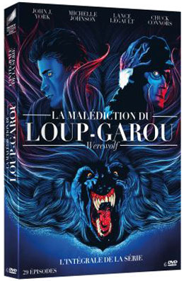 La malediction du loup garou la serie en coffret integrale DVD