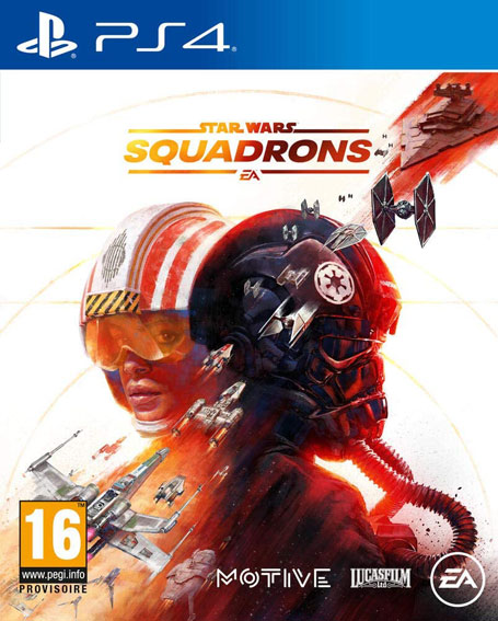 Star wars squadrons PS4 Xbox PC compatible vr realite virtuelle
