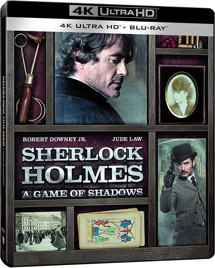 sherlock holmes robert downey jr Blu ray 4K Ultra HD