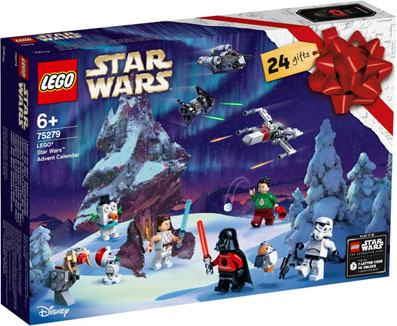 0 calendrier avent lego star wars 2020 75279