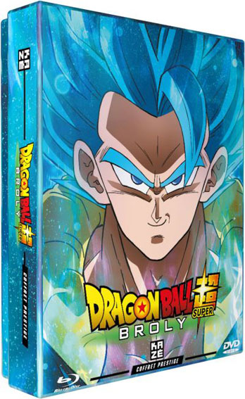 Dragon ball super Broly Steelbook Collector Blu ray DVD