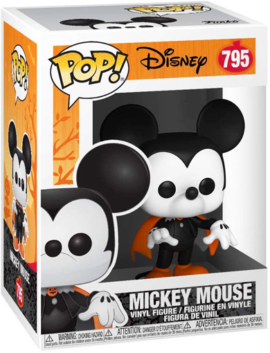 Funko pop mickey Halloween Spooky collection 2020