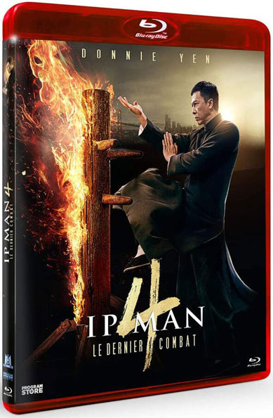 Ip man 4 Blu ray DVD