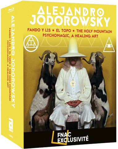 Jodorowsky coffret collector Blu ray film